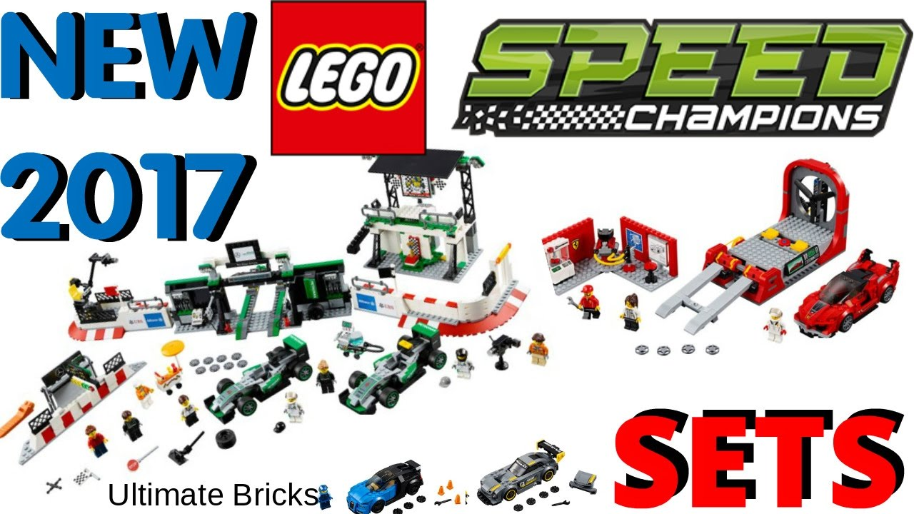 new 2017 lego speed champions set images for winter 2017 youtube. Black Bedroom Furniture Sets. Home Design Ideas