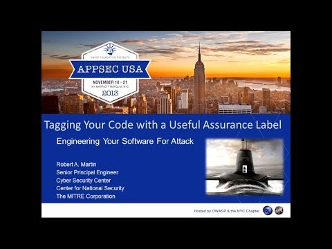 Tagging Your Code with a Useful Assurance Label - Robert Martin
