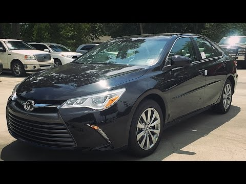 2016 Toyota Camry Xle V6 Full Review Start Up Exhaust