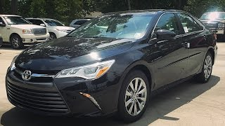 2016 Toyota Camry XLE V6 Full Review, Start Up, Exhaust(HAPPYRIDER2011 OFFICIAL SITE: http://www.happyrider2011.com FACEBOOK: https://www.facebook.com/Happyrider2011 Here's the link to the Camry XSE ..., 2015-09-04T12:38:00.000Z)