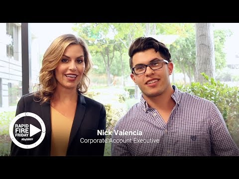 Rapid Fire Friday : Nick Valencia
