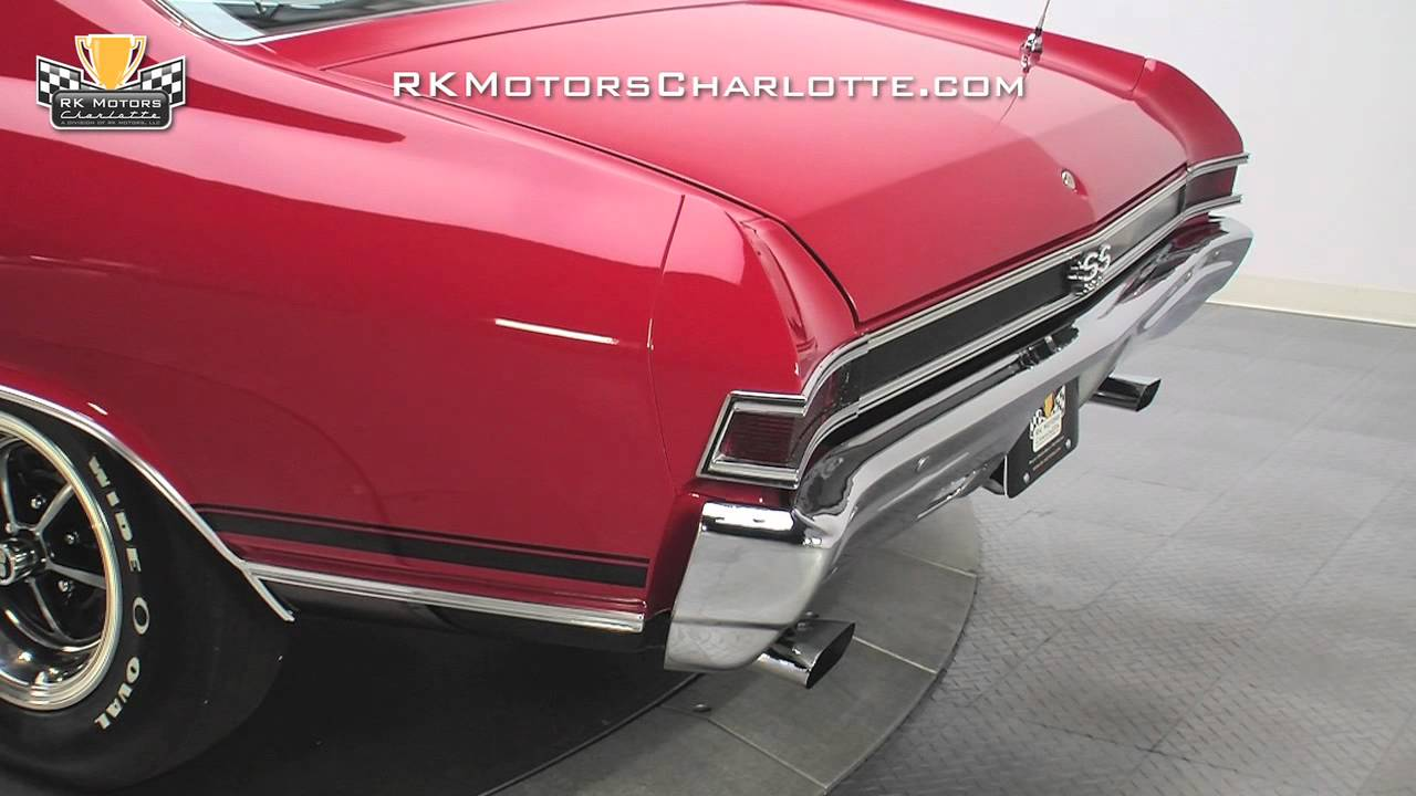 132785 1968 Chevrolet Chevelle Super Sport Youtube
