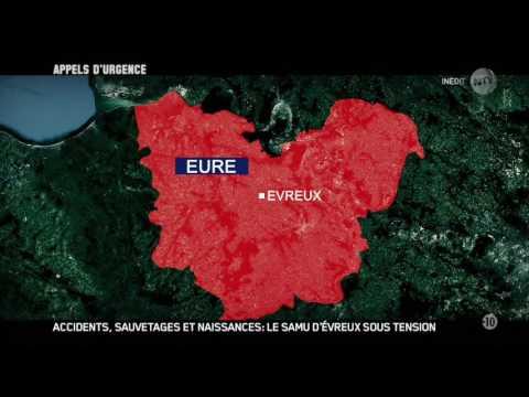 Appels d'urgence - Accidents sauvetages le Samu d'Evreux sous tension 2016 HDTV 720p x264