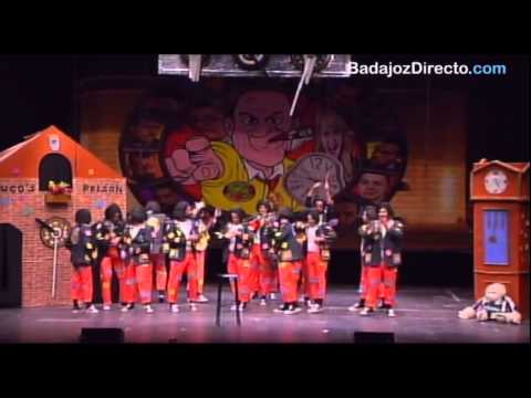 Serendipity en Preliminares Concurso de Murgas Carnaval de Badajoz 2015