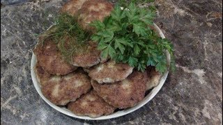 Шницель  из филе щуки !!!!! schnitzel from fillet of a pike