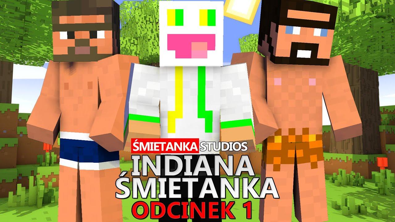Minecraft Indiana Mietanka 1 Jaskiniowcy YouTube