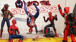 Spider Man Iron Suits got Stolen by Carnage and Joker | Figure Stopmotion