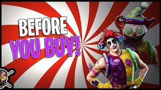 Nite Nite | Creepy Clown! - Before You Buy - Fortnite
