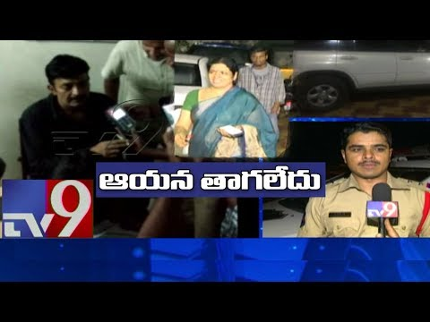 Hero Rajasekhar injured in road accident - TV9