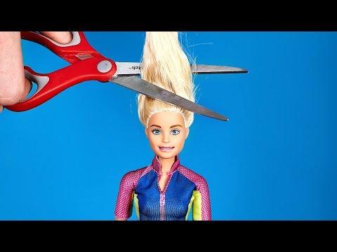 Ошеломительное преображение вашей любимой куклы Барби