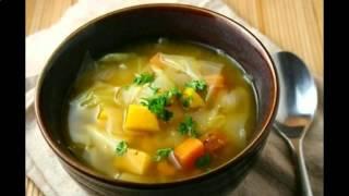 Рецепт щи вегетарианские часть3