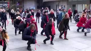 1BillionRising in Prague / Tanec proti násilí v Praze