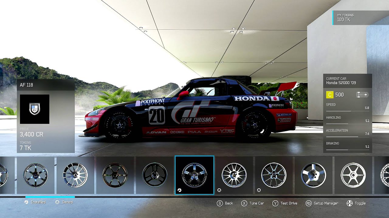 Forza 6 class c honda s2000 race and tune league ready youtube publicscrutiny Image collections