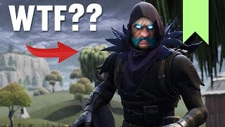 CREEPY RAVEN SKIN GLITCH! | FORTNITE FUNNY FAILS AND BEST MOMENTS #037