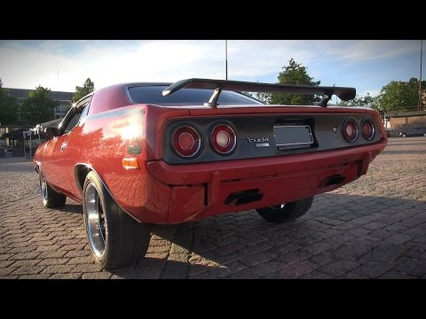 600HP Plymouth Cuda 440 - Brutal V8 Sound!