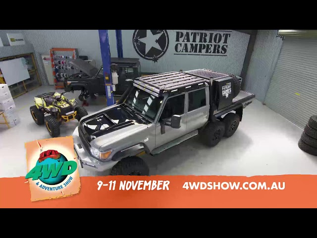 2018 Perth 4WD and Adventure Show is on!
