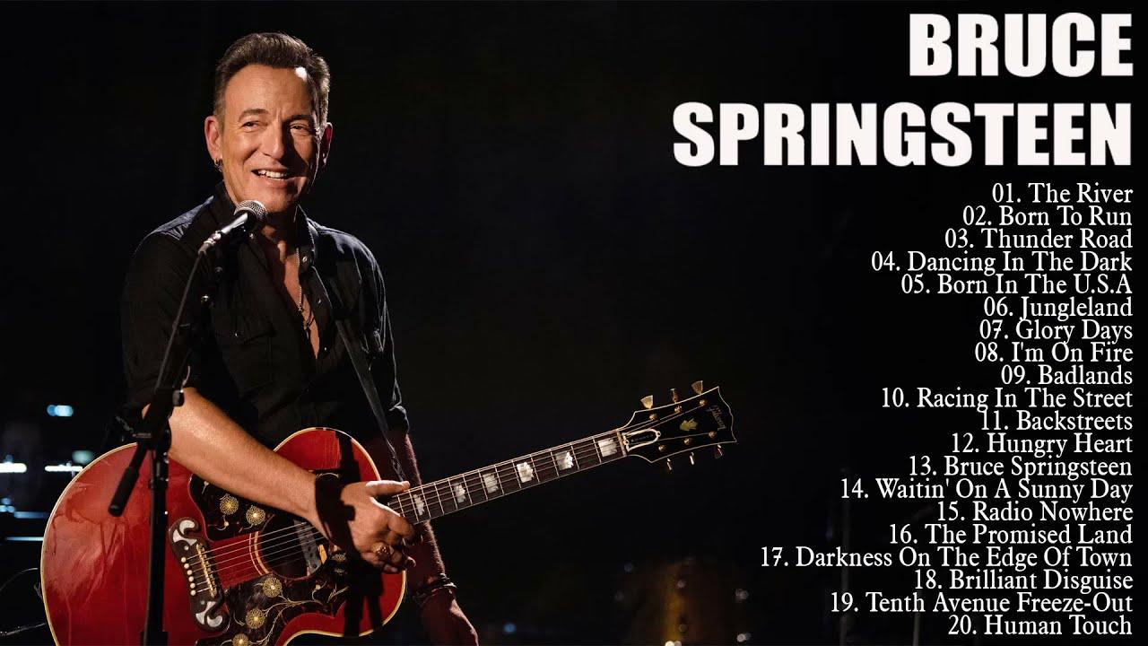 Download Bruce Springsteen Best Songs Playlist 2021 🎶 Bruce Springsteen Greatest Hits Full Album