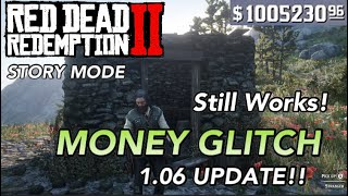 UNLIMITED MONEY GLITCH ON RED DEAD REDEMPTION 2 (1.06 UPDATE!!!