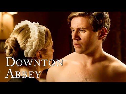 Tom Falls Into Edna's Clutches | Downton Abbey
