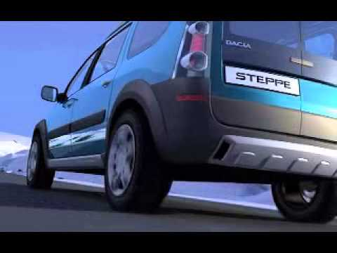 Dacia Logan Steppe Youtube