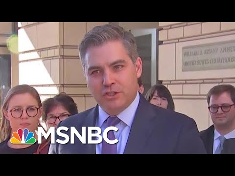 A Win For Press Freedom, Jim Acosta's Press Pass Restored | Velshi & Ruhle | MSNBC