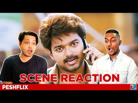 Bairavaa Interval Fight Scene Reaction | Vijay | PESHFlix Entertainment