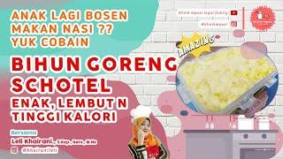 BIHUN GORENG SCHOTEL KUKUS BUAT BAYI | RESEP MPASI 6 BULAN PERTAMA