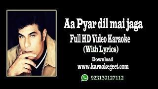 Video Waris baig-Aa pyar Dil mai Jaga video karaoke with lyrics download MP3, 3GP, MP4, WEBM, AVI, FLV Juni 2018