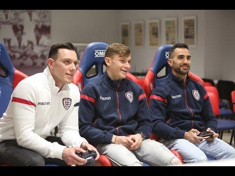 Sau, Barella e GoldenBoy si sfidano a FIFA18   Cagliari Calcio eSports