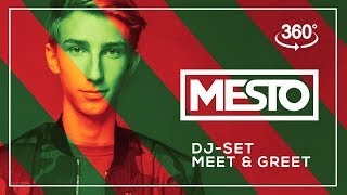 MESTO Live DJ Set with MeetGreet in 360 4K