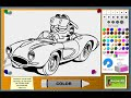 Garfield Coloring Pages For Kids - Garfield Coloring Pages