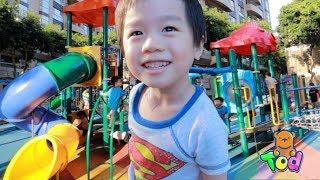 小陶德手術後第一次去親子公園玩!好久不見了! Fun in Kid's Playground | 沛莉