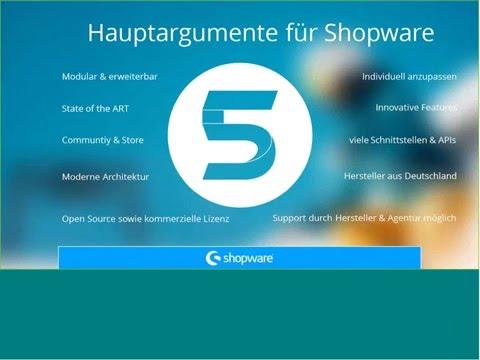 Zukunftsweisende Shopware Webshops von ACRIS für Ihr E-Commerce