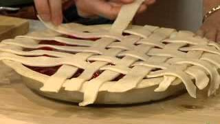 Pie Crust Techniques Lattice