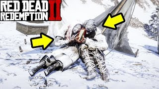 DOES THIS FROZEN COUPLE HAVE THE UFO SECRETS in Red Dead Redemption 2?