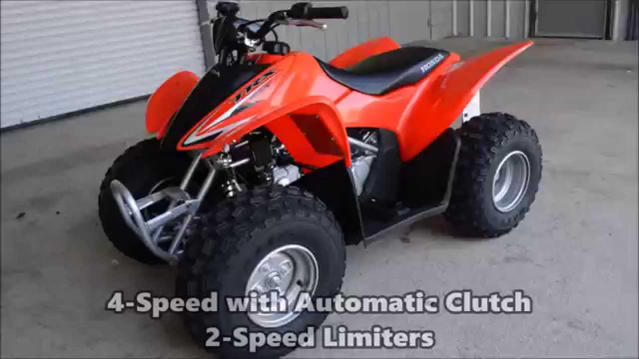 2015 honda trx90 kids atv four wheeler for sale chattanooga tn ga al youtube [ 1280 x 720 Pixel ]