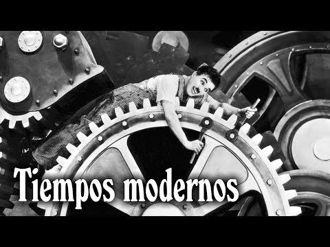 Tiempos modernos - Charles Chaplin (1936)