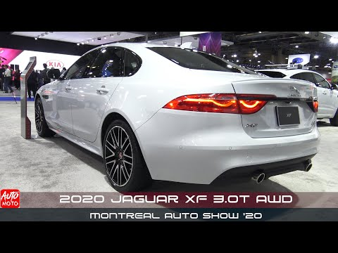 2020 Jaguar XF 3.0t AWD - Exterior And Interior - Montreal Auto Show 2020