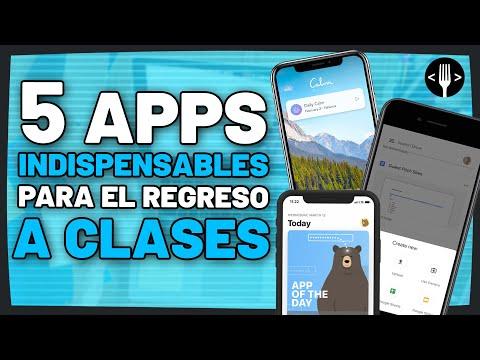 Apps para tu regreso a clases | Servicio de la comunidad