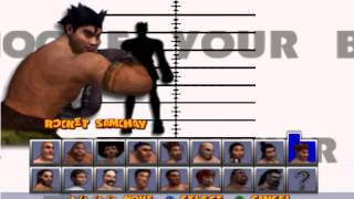 Ready 2 Rumble Boxing (N64) all characters unlocked w/alt outfits