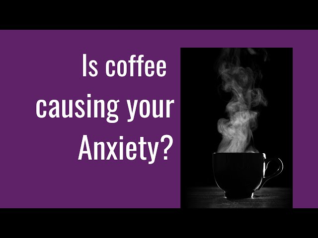 Coffee and Anxiety #shorts - Should you be having that morning coffee?