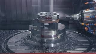 Integrated rotary table with up to 50 rpm