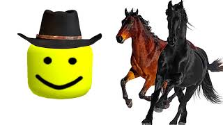 Old Town Road Roblox Oof Version