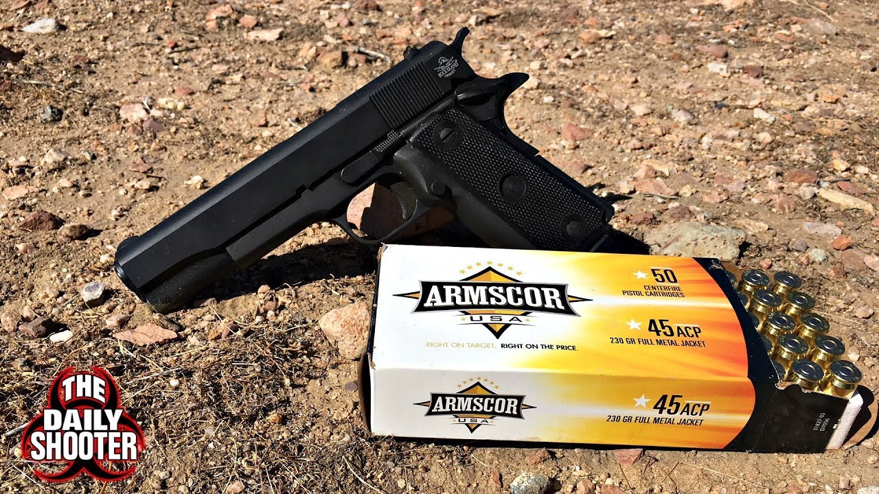 Rock Island Armory M 1911 A2 FS Double Stack Review