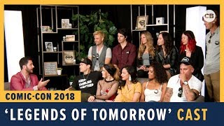 Legends of Tomorrow  Cast - SDCC 2018 Exclusive Interview