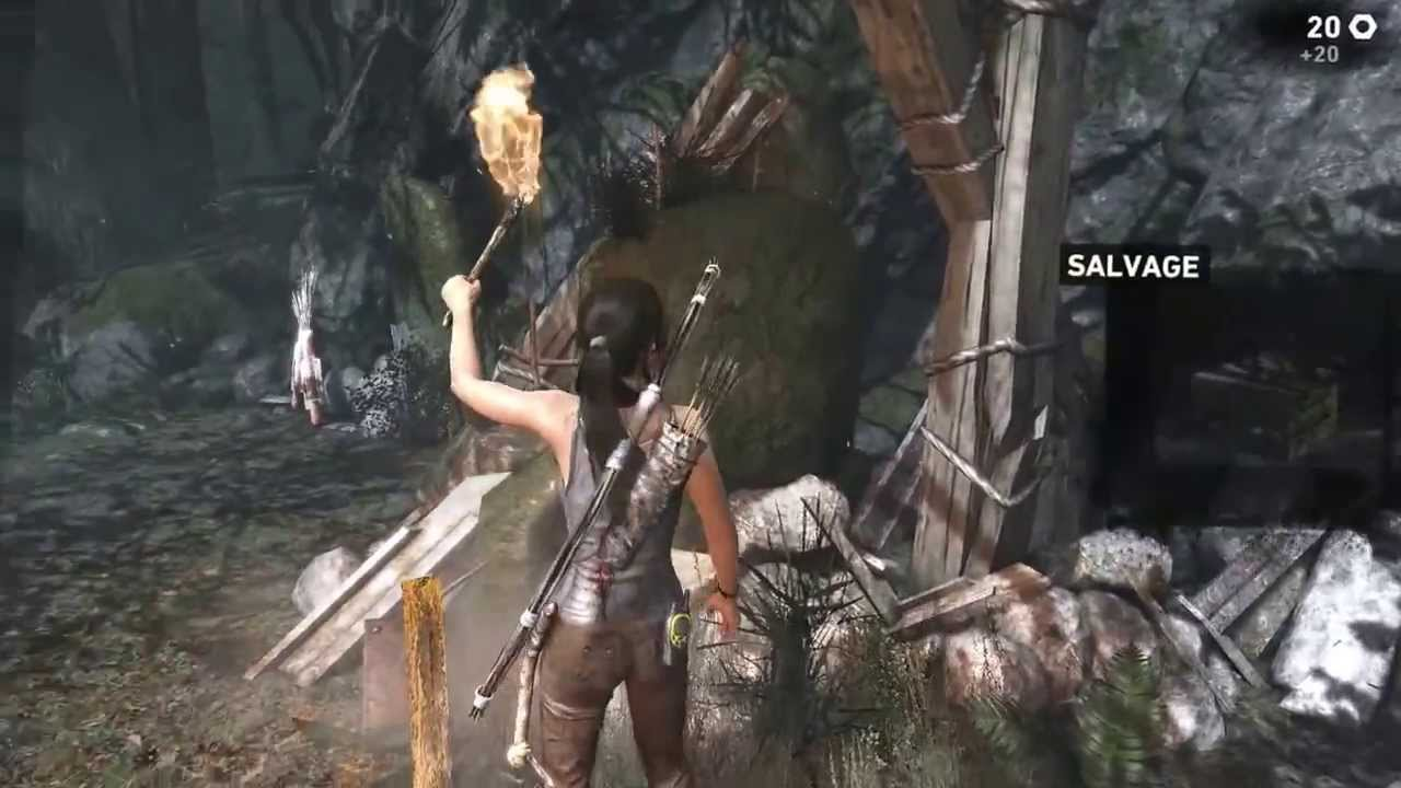 Xbox One Tomb Raider Definitive Edition 1080p Gameplay Youtube