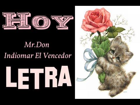 HOY - MR.DON (LETRA)