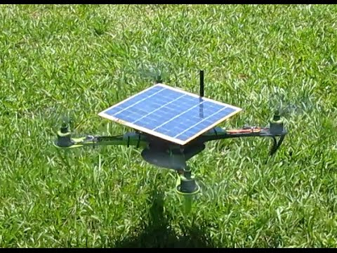 Solar Powered Quadcopter - Xsol-E1.1 - YouTube