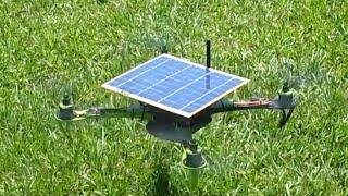 Solar Powered Quadcopter - Xsol-E1.1