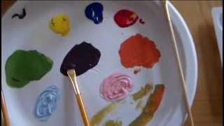 יצירת צבעים לילדים